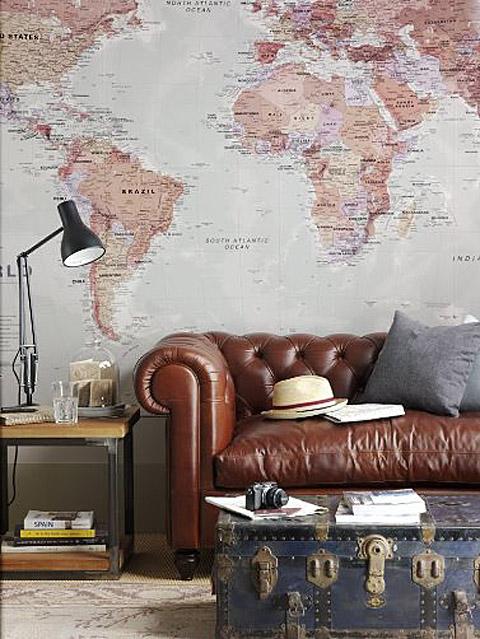 Весь мир в одной квартире, или Дом для путешественника