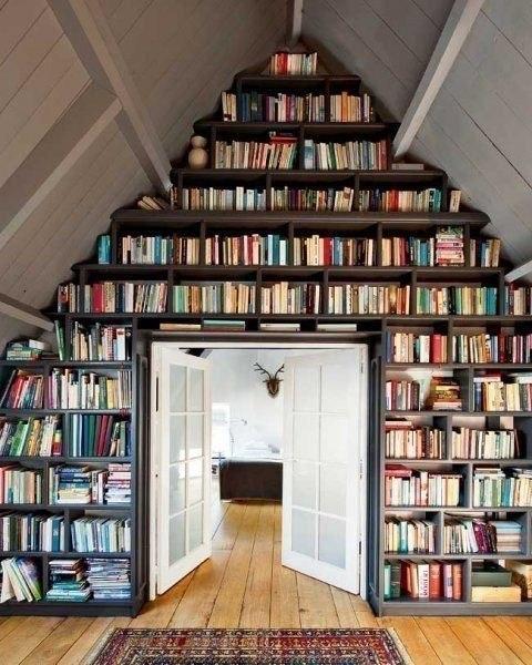 Уют для книголюба: все по полочкам!