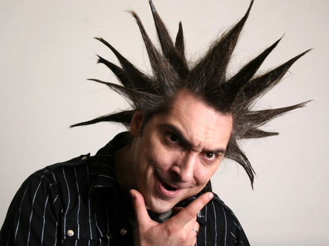 Михаил Горшок Горшенев, фронтмен рок-группы «Король и Шут», автор музыки и текстов: «Я боюсь серьезных людей»