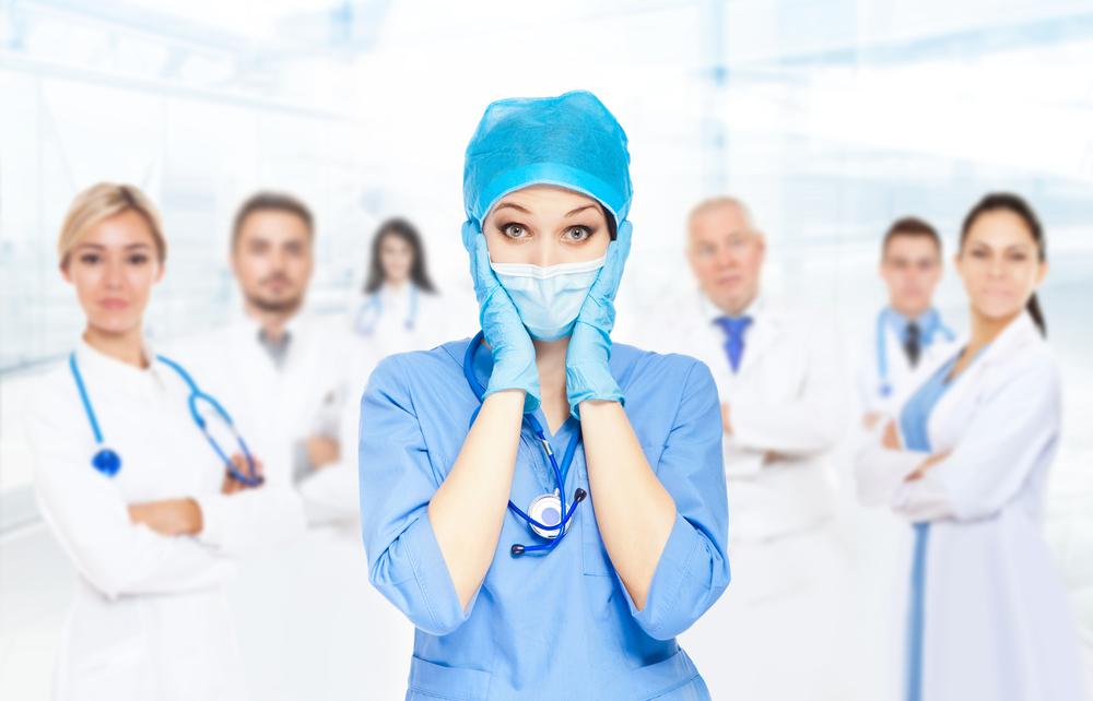 Ночная смена медсестер