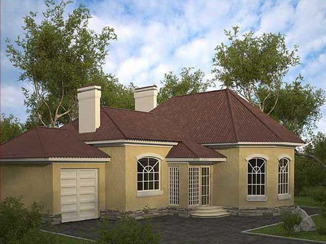 Проекты домов из клееного бруса Строительной компании