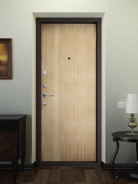 дверь входную подобрать по цвету в квартире