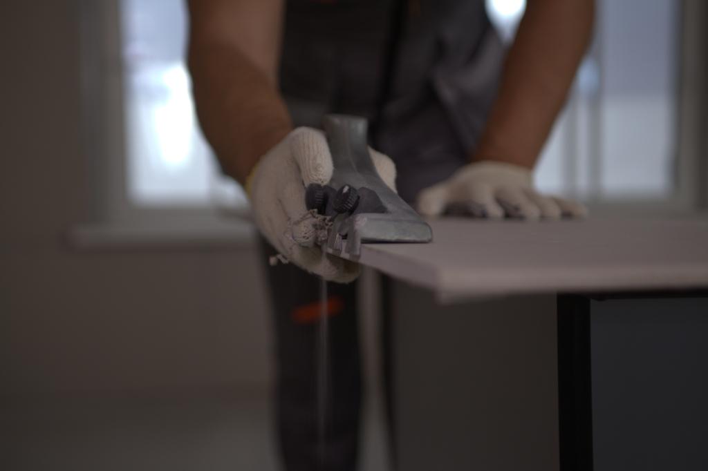 Ремонт герметизация межпанельных швов пеной