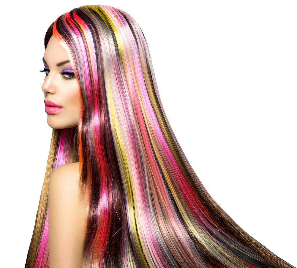 Картинки полоски на волосах