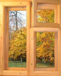 Деревянные рамы фото