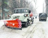 Мэрия: на дорогах Ростова работают 156 единиц снегоуборочной техники