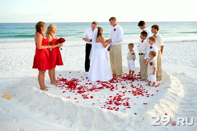 Как сделать романтичной маленькую свадьбу