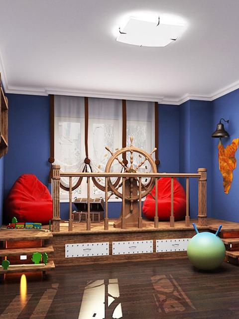 Путешествие в сказку, или Чудесные грани детской комнаты