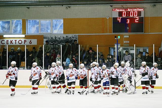 Хоккейная хитрость «Тюменских лисиц»