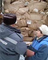 На станции Карталы-2 задержано 133 тонны сухофруктов