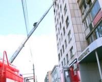 При пожаре над загсом Центрального района в Челябинске погиб один человек