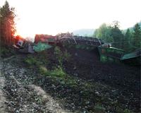 Катастрофу под Ашой могла вызвать несогласованность локомотивных бригад