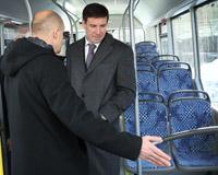 Первый автобус, работающий на природном газе, прибыл в Челябинск