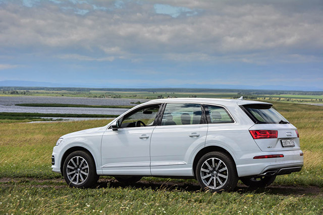 Audi Q7. Лучше меньше, да лучше