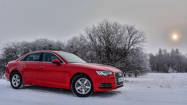 Audi A4. Он точно новый?